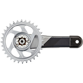 SRAM X01 Eagle DUB Guarnitura 12-velocità 32T, black/silver